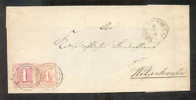 Taxis 13 +26 Beautiful Letter From Hessian Grimsby (A7108