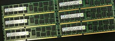 Lot 48GB (6x8GB) DELL R410 R510 R610 R710 PC3-10600R ECC DDR3 1333MHz Memory
