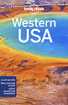 Lonely Planet Western USA Travel Guide 2018 BRAND NEW 9781786574619