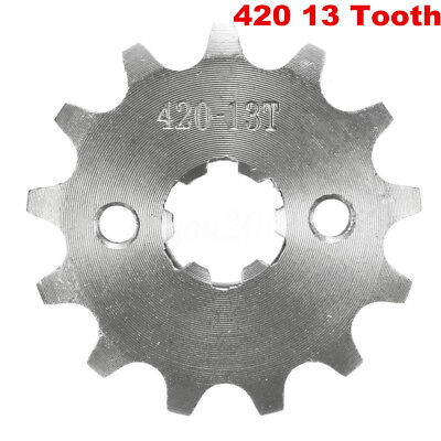 420-13T 17mm 420 Size 13 Teeth Front Sprocket For Motorcycle ATV Pit Dirt Bike