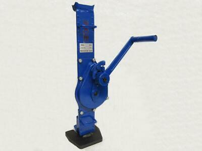 10 Ton Rack & Pinion Jack - 10T 10000KG Mechanical Lifting Manual Fixed Claw