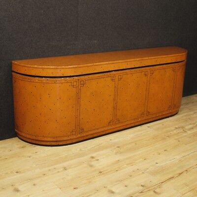 Sideboard Spanish modern furniture design lacquered painted wood vintage 900