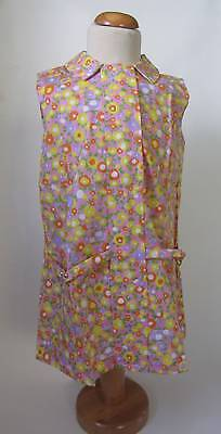 vintage girls summer floral dress 40's style NWT's deadstock