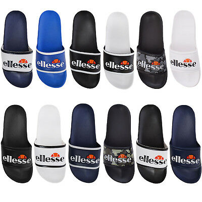 Ellesse Mens Julian Slides Flip Flops Pool Summer Slip On Sliders Sandals