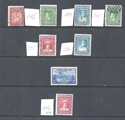 Canada NEWFOUNDLAND USED SELECTION (1 MH) (BS11384)