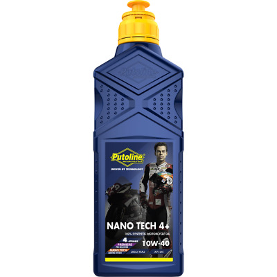 Putoline Nano Tech Off Road 4+ 10W40 Mx Enduro Synthetic Motorcycle Oil