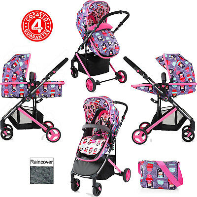 Cosatto Wish Kokeshi Smile 2 In 1 Pushchair Stroller From Birth