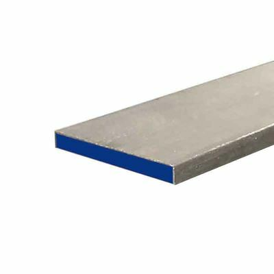 "304 Stainless Steel Flat Bar, 3/16"" x 1-1/2"" x 12"""
