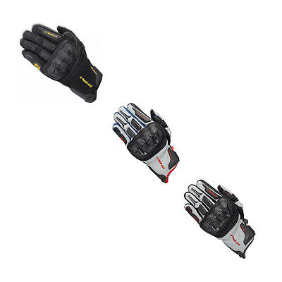 Held Sambia Motorrad Motorcycle Unisex Leather Summer Gloves All Colours & Sizes