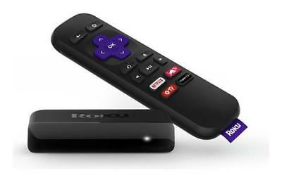 Streaming Hd Stick Player Roku Express 1080P Remote Tv Easy Use Compact Digital