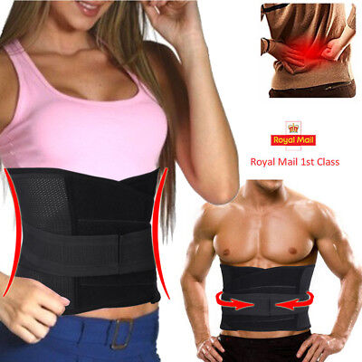 Men Women Medical Waist Tummy Belt Support  Brace For Lower Back Relief Therapy