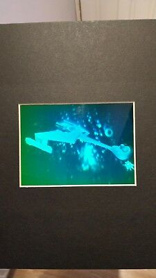 Star Trek Klingon Battlecruiser Hologram Nm/Mint