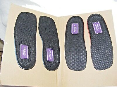 Bnwt Job Lot Of 16 Pairs Of Hush Puppies Insoles Children's Size Uk 7 Eur 24
