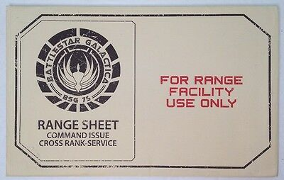 Battle Star Galactica Loot Crate Gun Range Two Posters Bsg