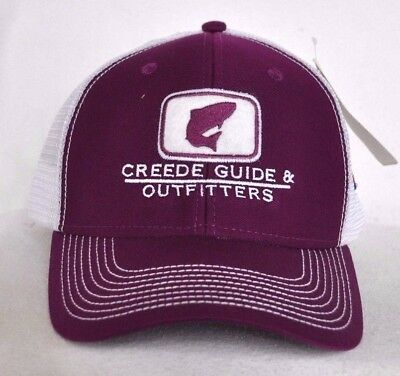 ae17ba8f107ca  CREEDE COLORADO OUTFITTERS  Fly fishing Trucker Ball cap hat snapback   OURAY