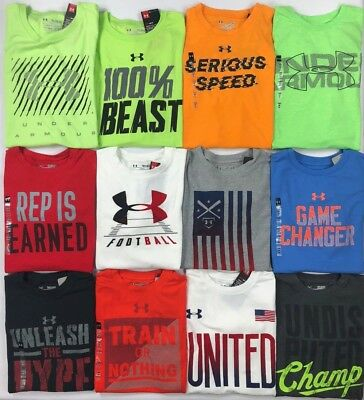 Boy's Youth Under Armour Heatgear Loose Fit T-Shirt