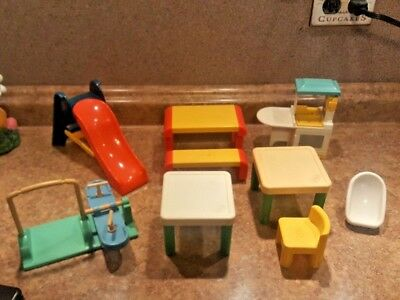 Little Tikes Doll House Furniture U0026 Accessories Lot