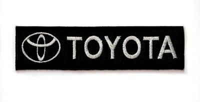 TOYOTA Logo Japan automakers Embroidered Iron-on patch Motor Sports Racing Teams