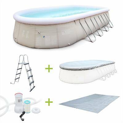 Piscina autoportante, hinchable 7,3x3,6x1,2m