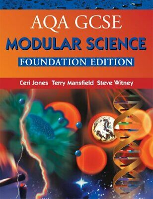 AQA GCSE Modular Science, Foundation edition (A... by Mansfield, Terry Paperback