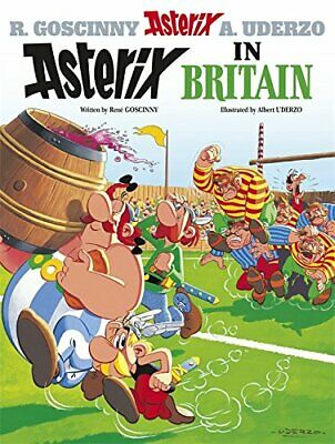 Asterix in Britain: Album 8 by Uderzo, Albert Paperback Book The Cheap Fast Free