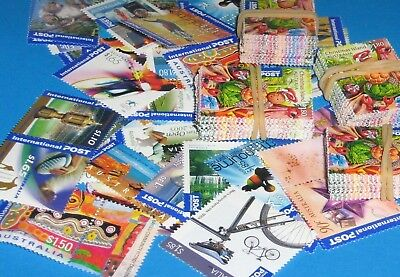 Australia $400 dollars of Mint International Stamps With Gum,With Tax Invoice