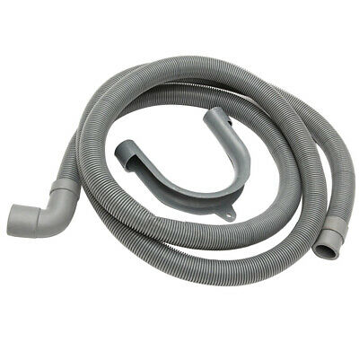 Flexible Elbow Drain Pipe With Bracket For Washer Washing Machine
