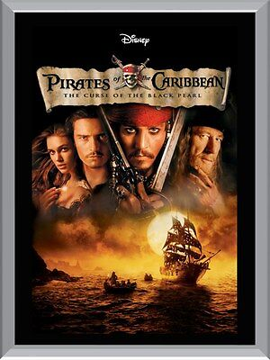 Pirates of The Caribbean Curse Of The Black Pearl A1 To A4 Size Poster Prints