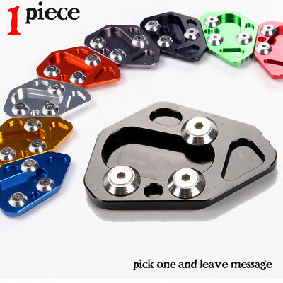 Enlarge Kickstand Side Stand Extension Pad Plate For BMW F800R (2009-2014)/HP2