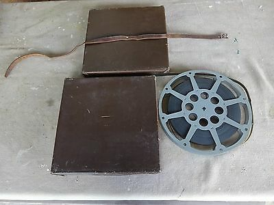 Vintage 16Mm Movie Film-Castle Films Wolf Wolf-Metal Reel & Case