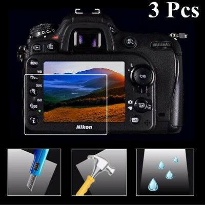 Clear LCD Tempered Glass Film Screen Protector For Nikon D3100 D3200 D3300 D3400
