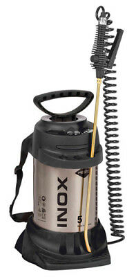 Mesto Stainless Steel Sprayer 5 Litre 3595, pest control, industrial cleaning