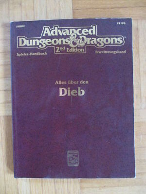 AD&D 2nd Edition – Alles über den Dieb 2111G HPBR2 – Deutsch Advanced Dungeons &