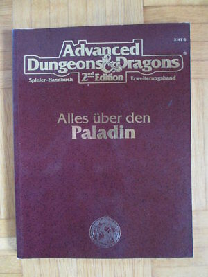 AD&D 2nd Edition – Alles über den Paladin 2147G – Deutsch Advanced Dungeons & Dr