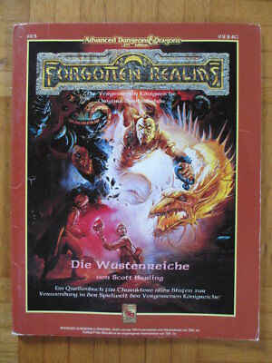 AD&D 2nd Edition Forgotten Realms – Die Wüstenreiche 9224G FR3 – Deutsch Advance