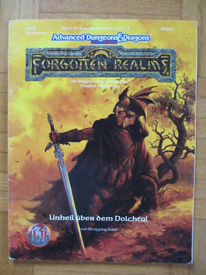 AD&D 2nd Edition Forgotten Realms – Unheil über dem Dolchtal 9391G FRQ3 – Deutsc