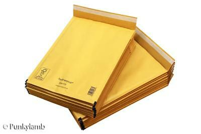 100 Small Bubble Mailer B/00 120mmX215mm Padded Mail Post Bags Envelopes