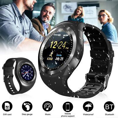 Smartwatch Reloj Inteligente Bluetooth Podómetro Impermeable Para Android/IOS