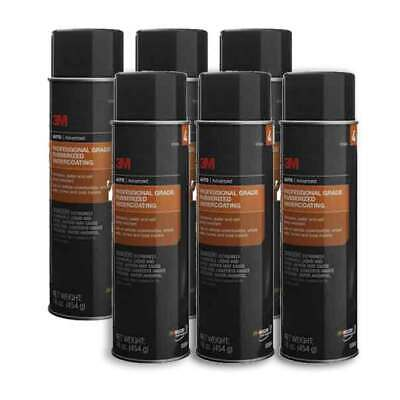 3M Professional Grade Rubberized Undercoating 03584 - 6 Pack