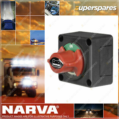 Narva Battery Master Switch Rotary Style 61082BL