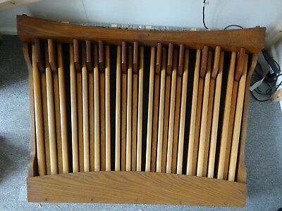 CHURCH ORGAN PEDALBOARD with MIDI, with matching bench  Suitable for  Hauptwerk