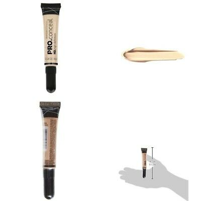 L.A. Girl Makeup Face Pro Liquid Conceal HD Soft Brush Tip Skin Imperfections