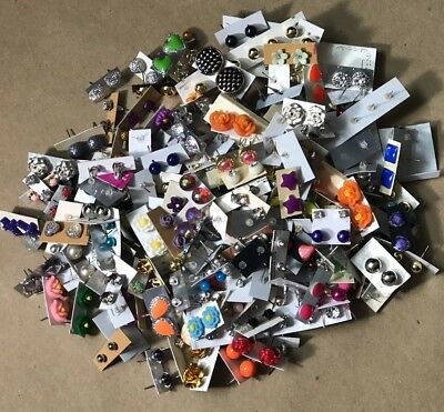 """""""Wholesale Jewelry Lot Stud Earrings 150 Pairs """"FREE SHIPPING TO USA"""""""