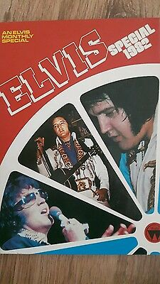 ELVIS PRESLEY SPECIAL 1982 - HARDBACK ANNUAL great condition