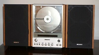 Sony CD AM FM Compact Bookshelf Bookcase Stereo System CMT EX1