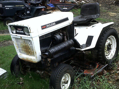 BOLENS 1476 LARGE frame garden tractor with mower deck