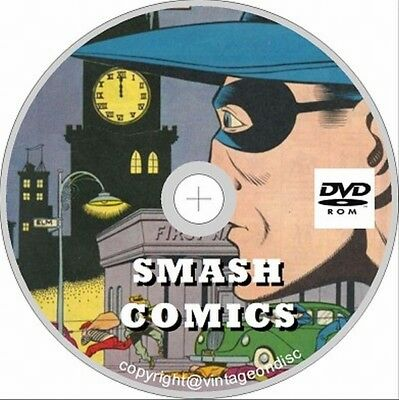 Smash Comics Issues 1 - 85 on DVD Rom
