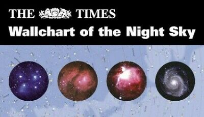 The Times Wallchart of the Night Sky by Tirion, Wil Wallchart Book The Cheap