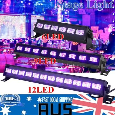 6/9/12LED 18/27/36W UV Stage Light Wall Washer Lamp for Disco DJ KTV Club Party
