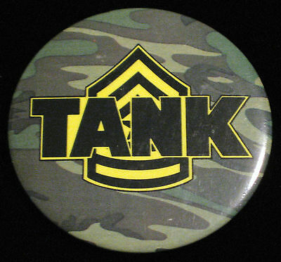 "TANK 1983 Movie Button Pin Promo Universal Studios Diameter 2.5"" James Garner."